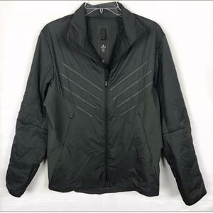 LULULEMON Reflective Black Puffer Jacket S